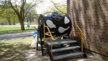 Compost cow tumbler system