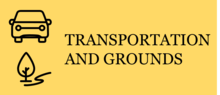 transportation and grounds icon