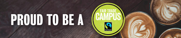 Proud to be a Fair Trade Campus banner image