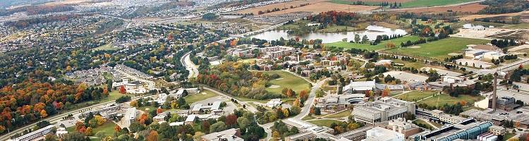 Waterloo North Campus Aerial