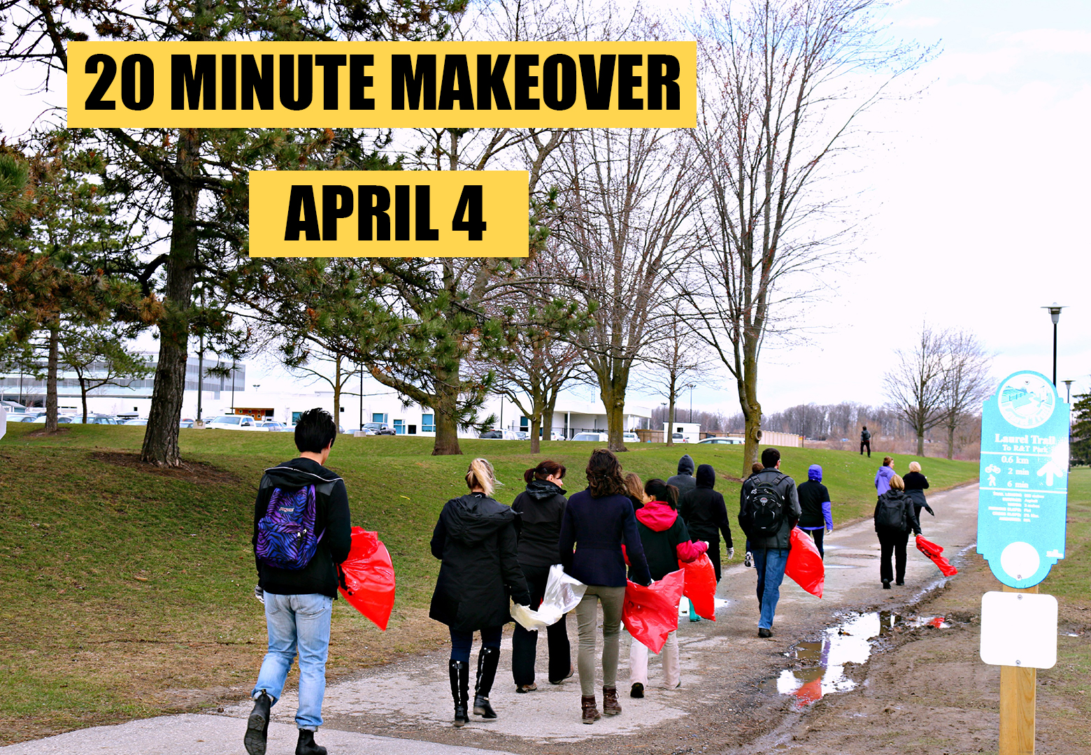 20 Minute Clean up Banner