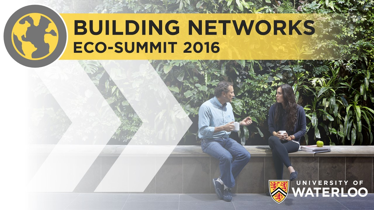 Building Networks: Eco-Summit 2016 Banner