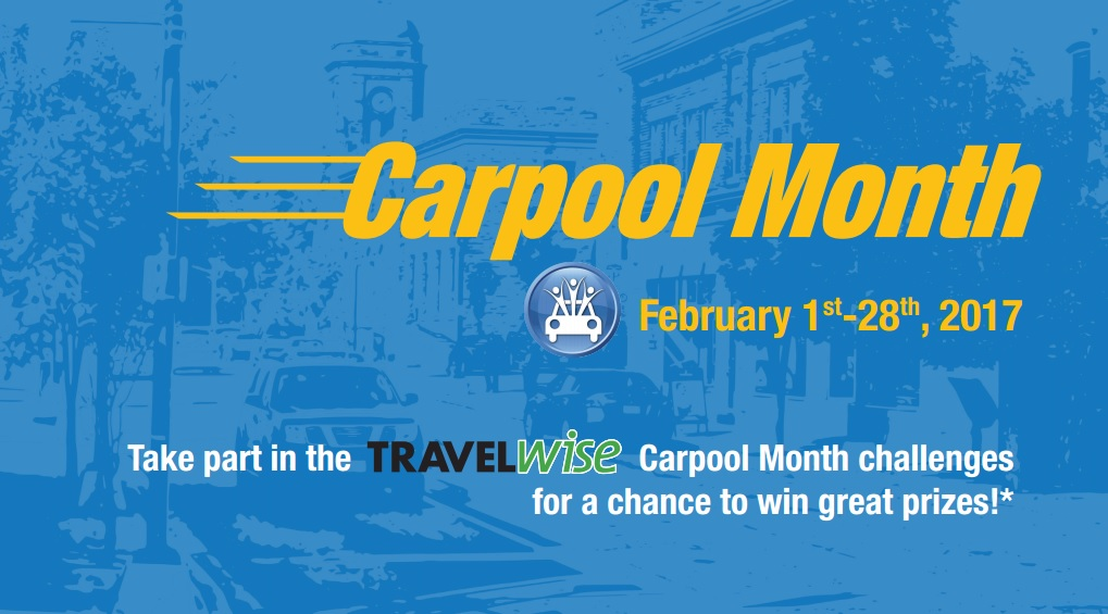 Carpool month flyer