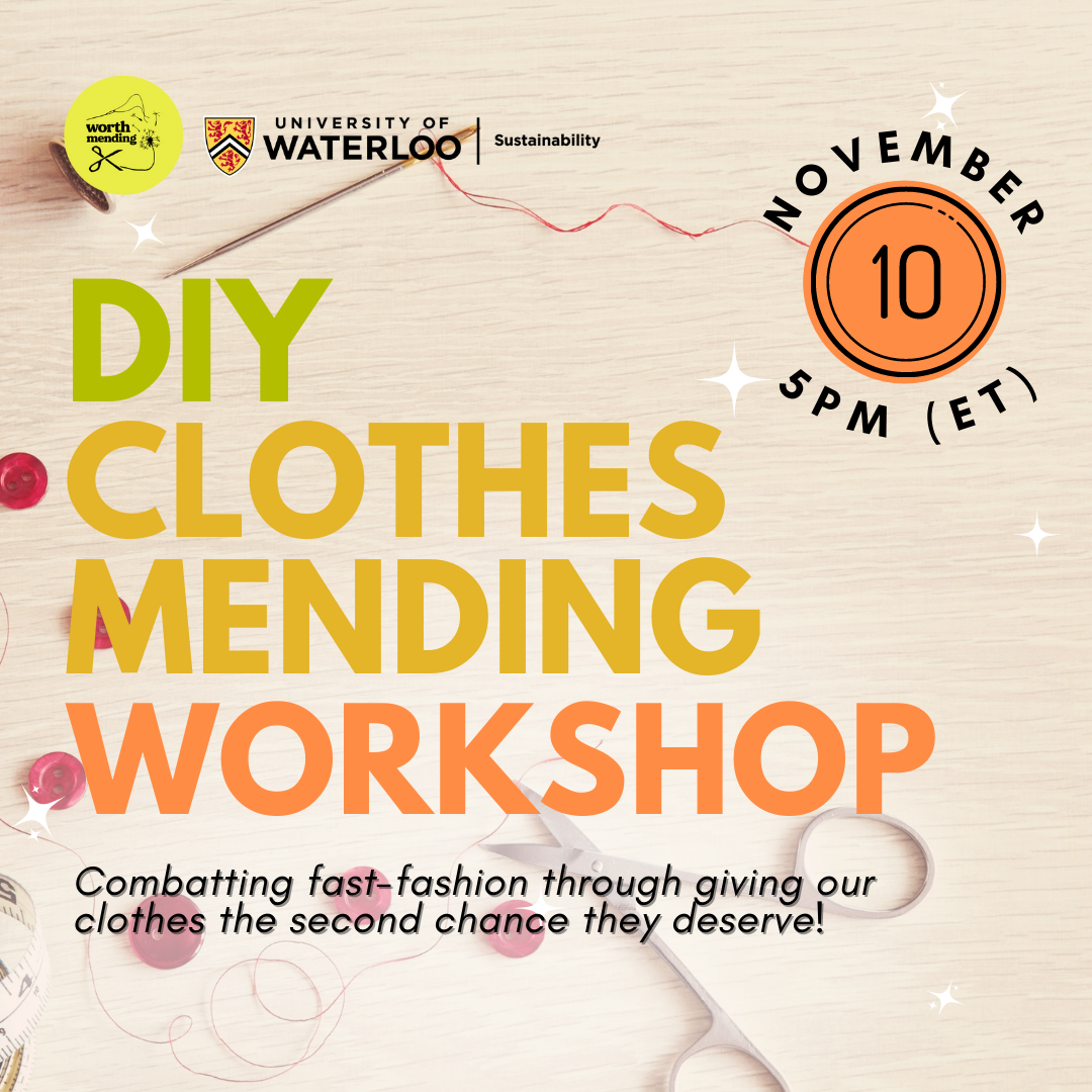 DIY Clothes Mending Promo
