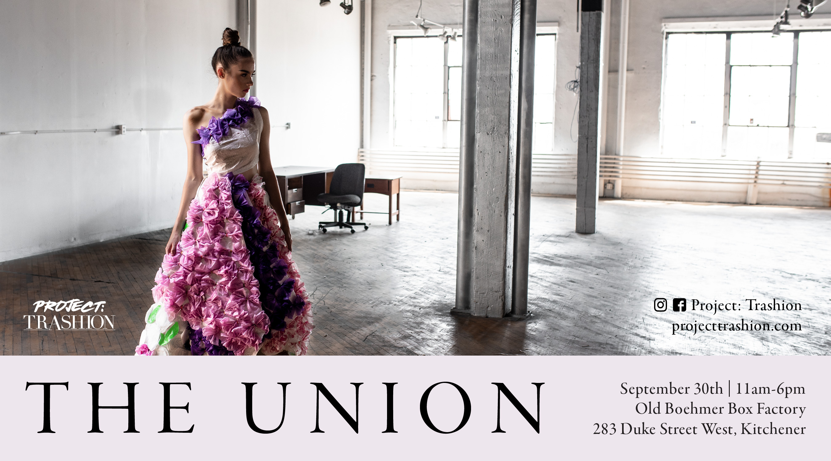 The Union Model Promotional Graphic