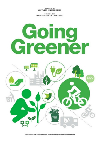 "Council of Ontario Universities ""Going Greener"" report"