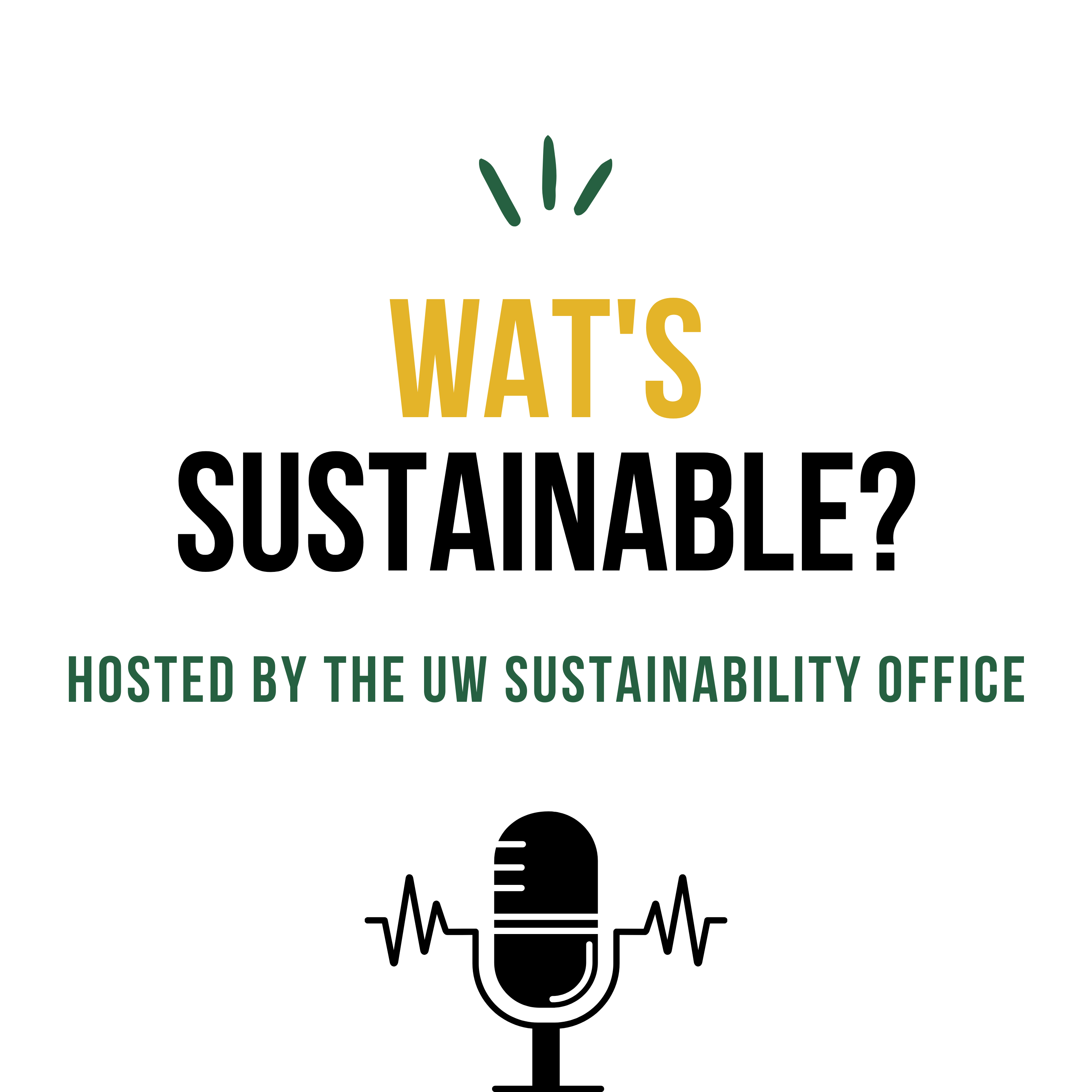 WAT's Sustainable Logo