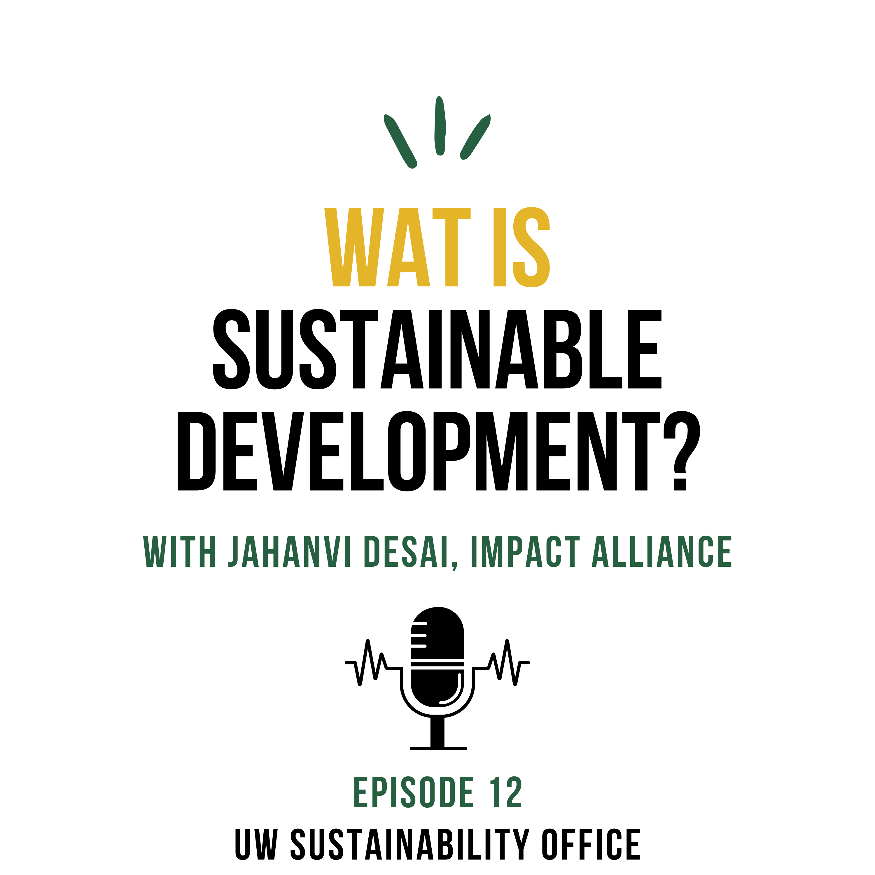 WAT is Sustainable Development cover