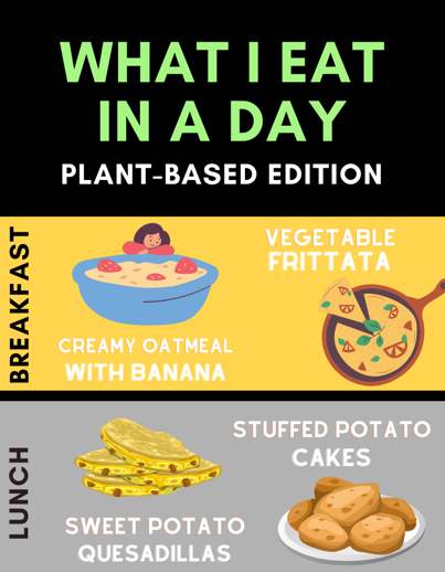 What I Eat in a Day: Plant-based Edition