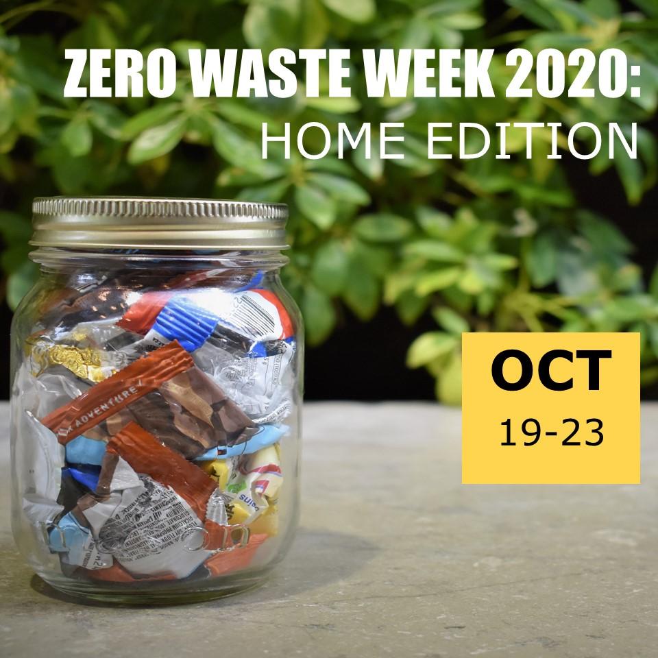 mason jar for zero waste week