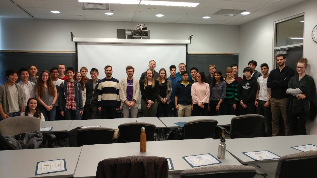 Dean's Honor List  students