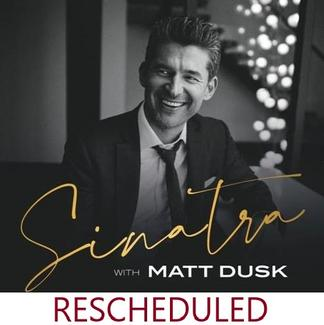 Headshot of Matt Dusk with rescheduled below the picture.
