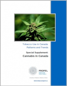 Cover of cannabis supplement, a marijuana plant