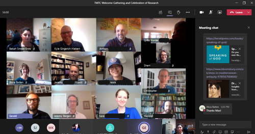 TTMC virtual welcome gathering