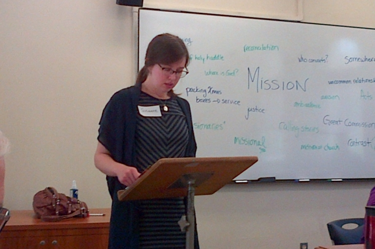 """Engaging Women's Voices on the Church, Theology, and Mission: A Task for the Church and the Academy"" Co-sponsored by TMTC and M"
