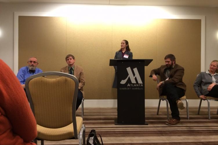 Participants at the Mennonite Scholars and Friends Forum AAR/SBL