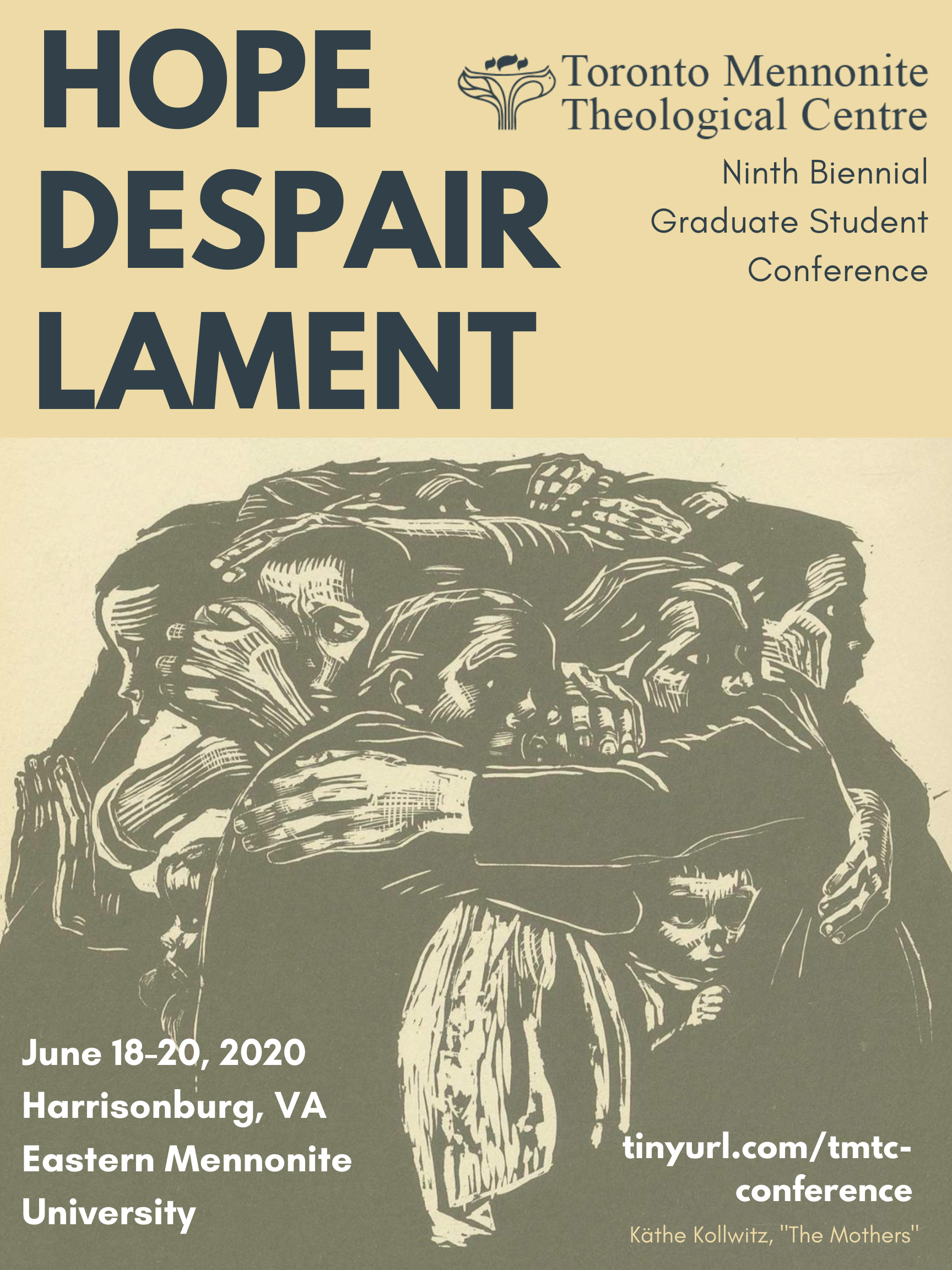 hope, despair, lament poster