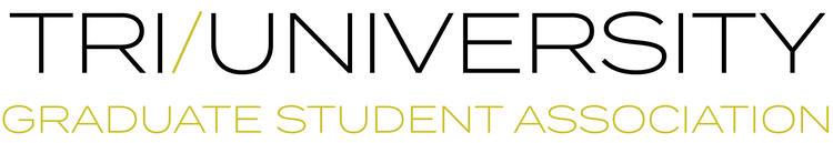 Tri-U graduate student association logo