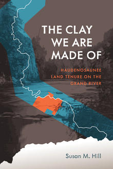 Susan Hill's book cover showing a map of Haudenosaunee land on the grand river