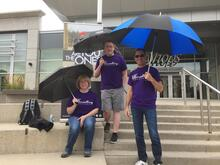 KW Counselling's United Way Umbrella March