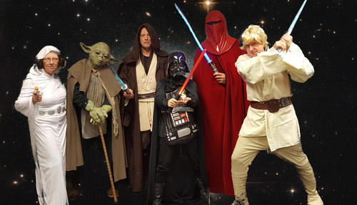 Deans as Star Wars characters