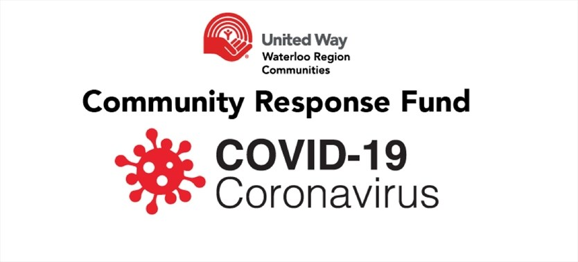 United Way Waterloo Region Covid-19 Community Response Fund Logo