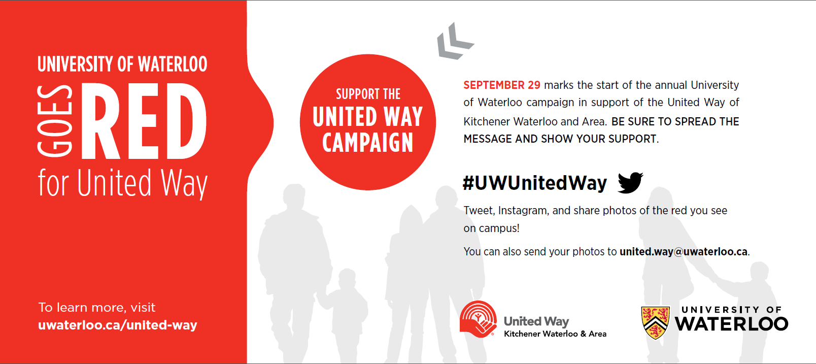 UWaterloo Goes Red for United Way
