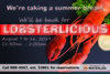 join us for lobsterlicious August 7 to 16