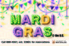 Mardi Gras Tuesday February 25th
