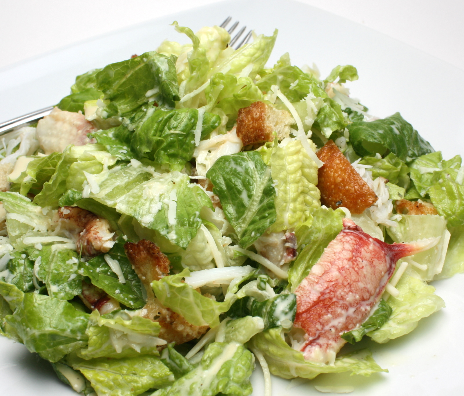 roamine lettuce, croutons, bacon and parm