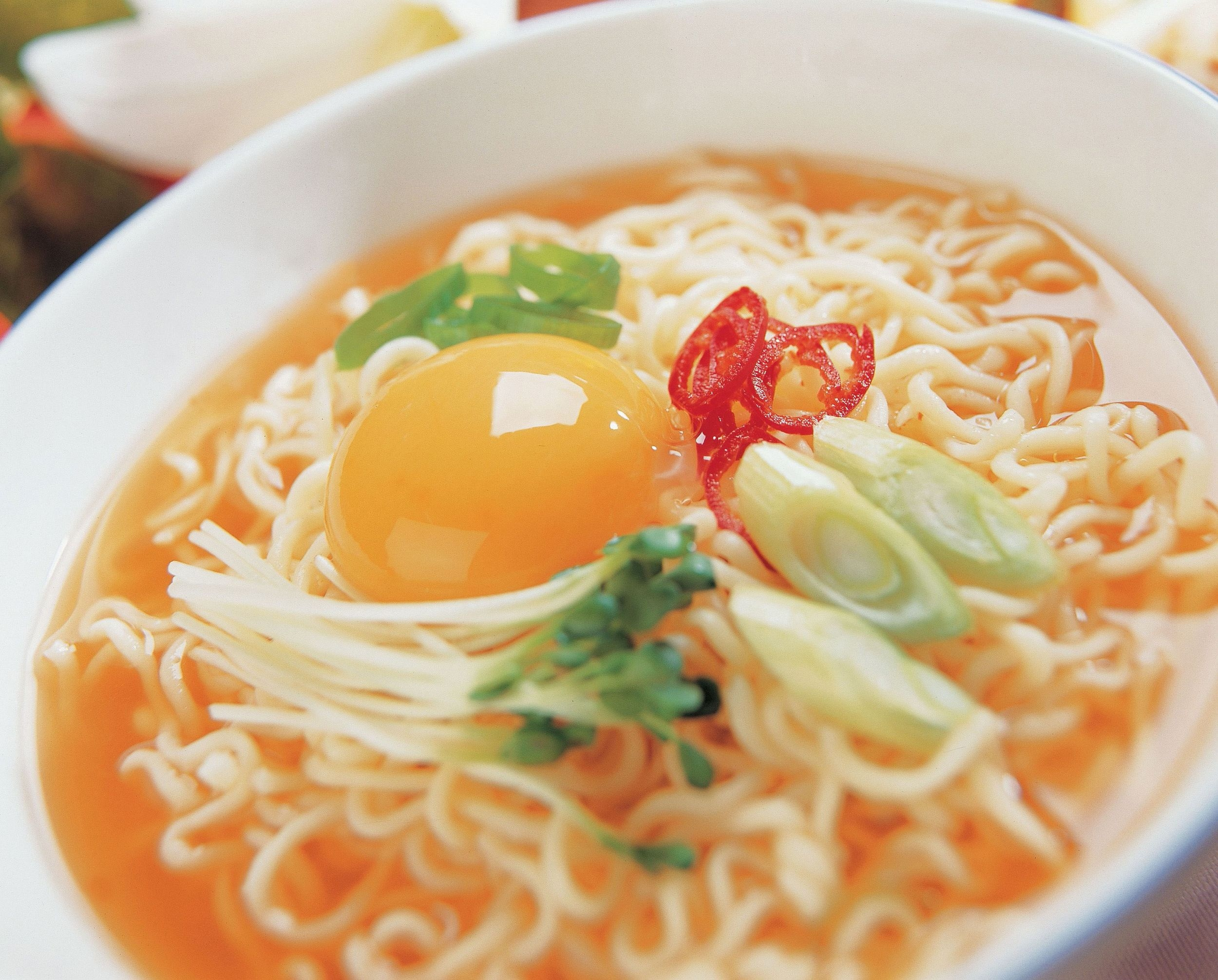 egg noodle bowl