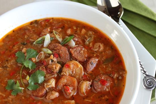 Cajun - Chicken & sausage gumbo