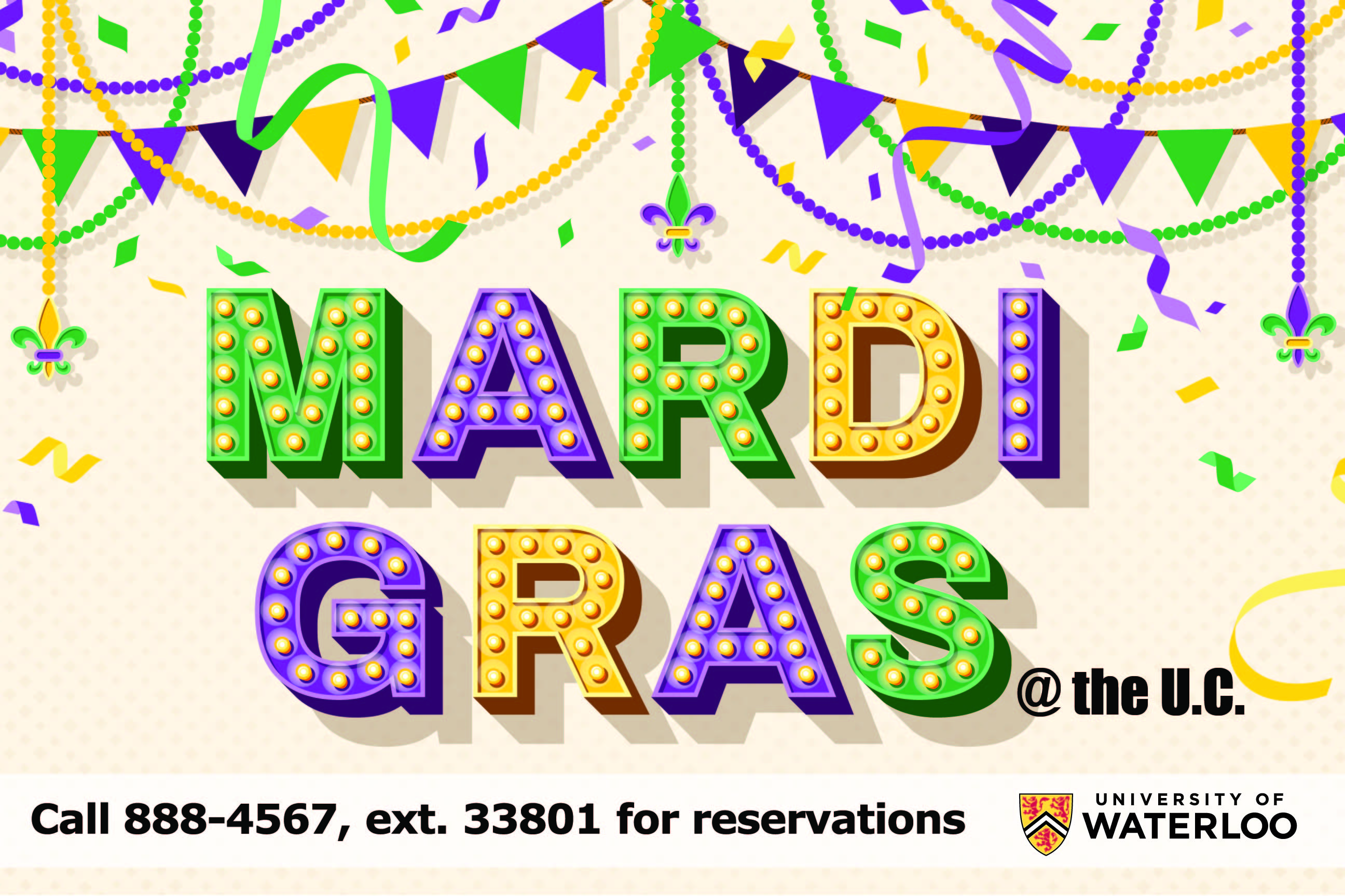 Mardi Gras Tuesday February 25th