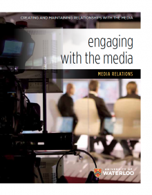 Engaging with the media guide - download PDF