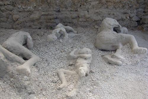 Pompeii Mother Protecting Child