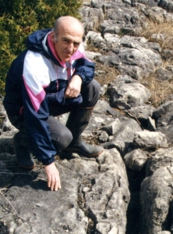 John Franklin on Manitoulin Island