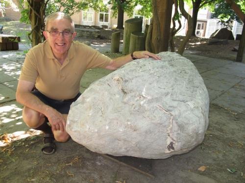 Stromatolite from Thunder Bay.