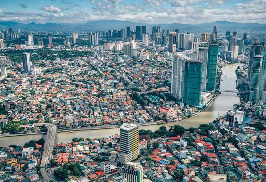 philippines urban river