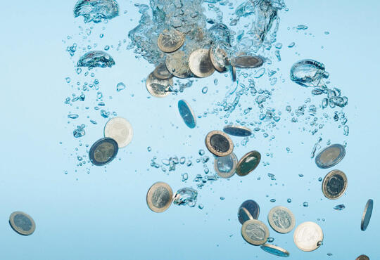 Coins in Water