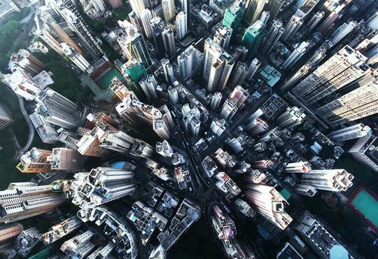 City of china aerial