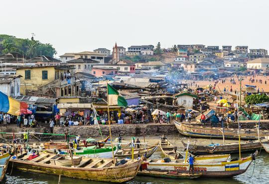 slums ghana
