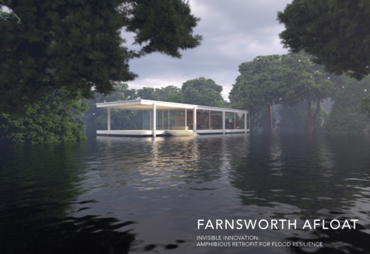 amphibious housing