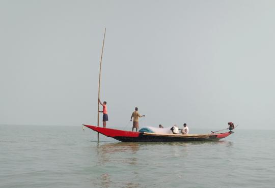chilika fishers prateep kumar nay