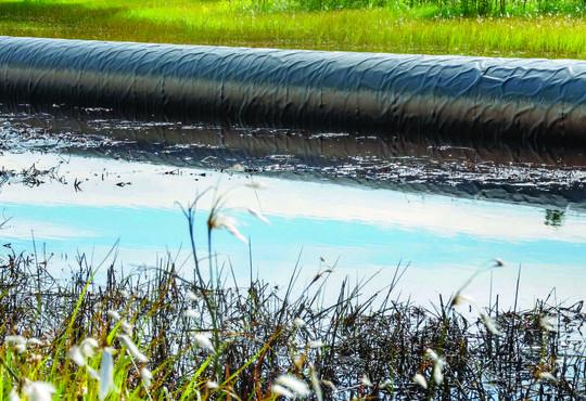 Spills in Peatlands