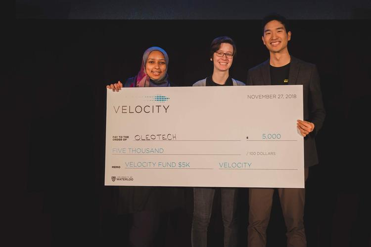 OleoTech at Velocity Fund Final