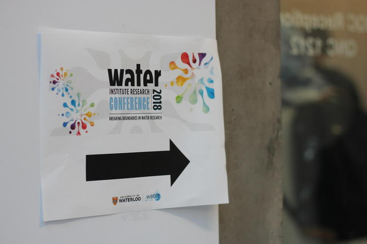 water institute research conference sign