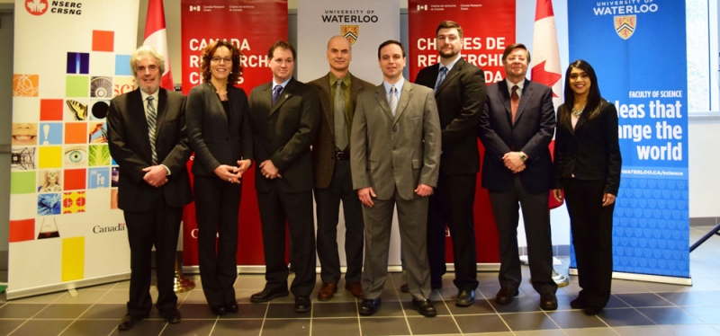 NSERC and CRC awards