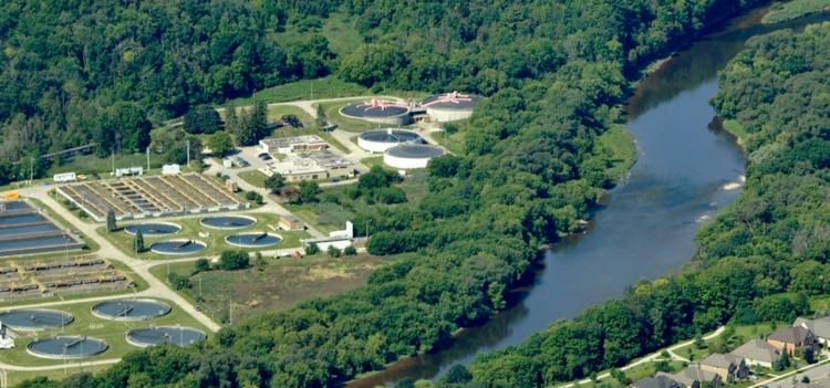 Kitchener Waterloo wastewater treatment plant
