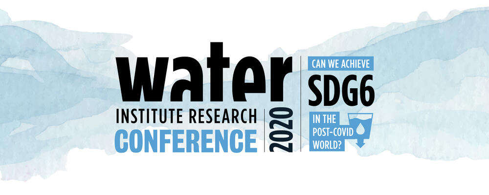 2020 Water Institute Research Conference