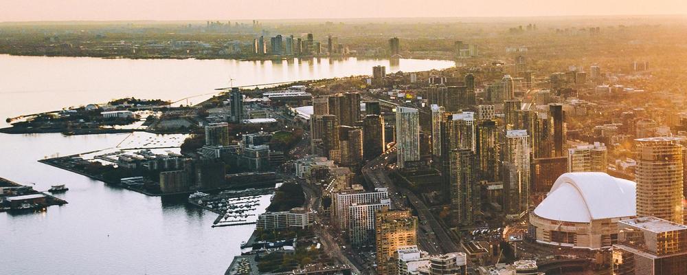 Toronto harbour image